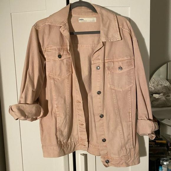 Zara Oversized Jean Jacket